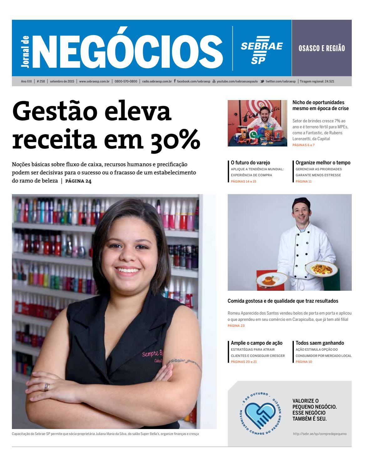 f0420ba3afd7c Jornal de Negócios Sebrae-SP - 01 de setembro de 2015 - Osasco e Região by  Sebrae-SP - issuu