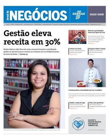 d922b908e Jornal de Negócios Sebrae-SP - 01 de setembro de 2015 - Osasco e ...