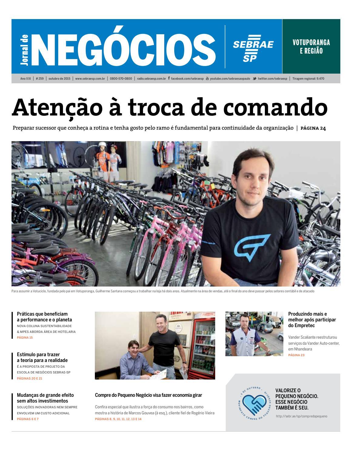 Jornal de Negócios Sebrae-SP - 01 de outubro de 2015 – Votuporanga by  Sebrae-SP - issuu 1e52a6d2e64a