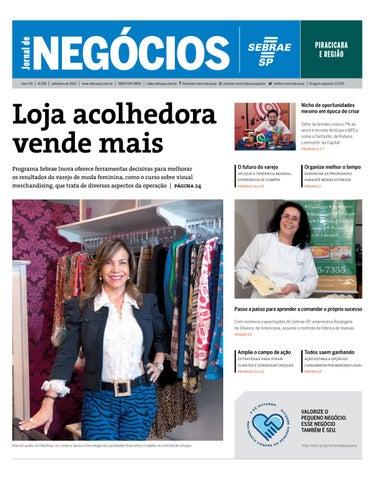 7a707bad4 Jornal de Negócios Sebrae-SP - 01 de setembro de 2015 - Piracicaba e ...