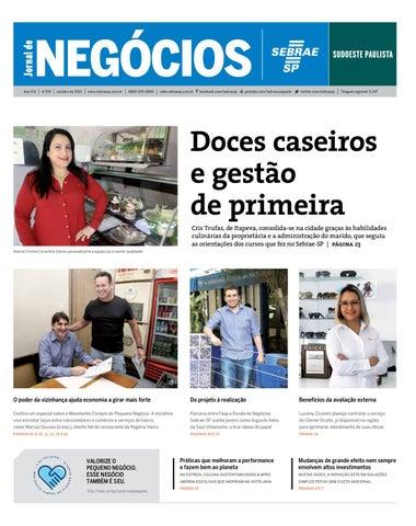 Jornal de Negócios Sebrae-SP - 01 de outubro de 2015 – Sudoeste ... 8794b3fd43