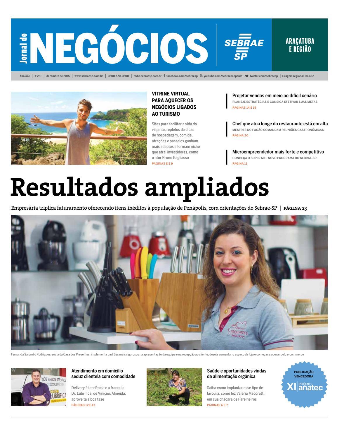 92c6287a9 Jornal de Negócios Sebrae-SP - 01 de dezembro de 2015 – Araçatuba by  Sebrae-SP - issuu
