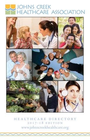 Johns Creek Healthcare Directory 2017 18 By Encore Atlanta Issuu