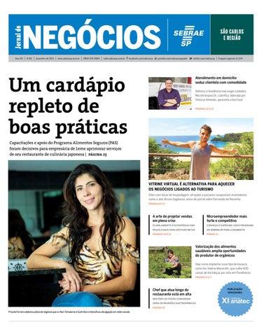 Jornal de Negócios Sebrae-SP - 01 de dezembro de 2015 – São Carlos 7024910e352
