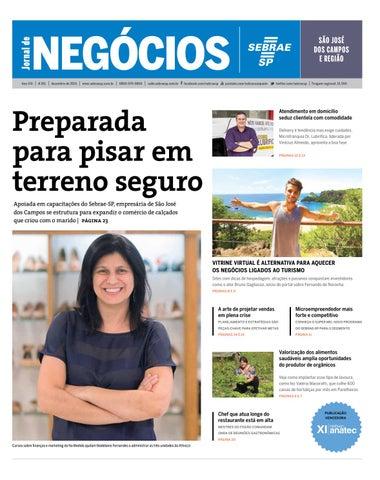 Jornal de Negócios Sebrae-SP - 01 de dezembro de 2015 – São José dos Campos 3381f522075