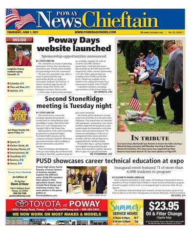 Poway news chieftain 06 01 17 by mainstreet media issuu page 1 solutioingenieria Choice Image