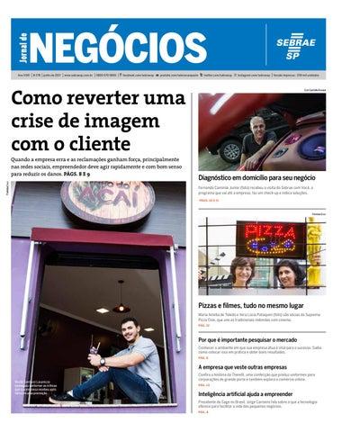 2d151409cdc Jornal de Negócios Sebrae-SP - 01 de junho de 2017 by Sebrae-SP - issuu