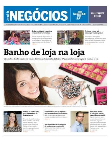 Jornal de Negócios Sebrae-SP - 01 de fevereiro de 2015 ... 5235ad2812