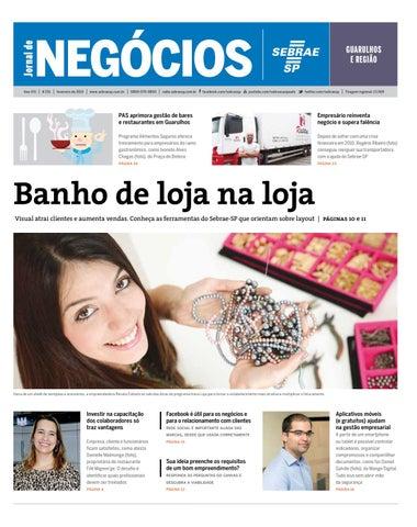 ee07c00c84 Jornal de Negócios Sebrae-SP - 01 de fevereiro de 2015 - Guarulhos ...