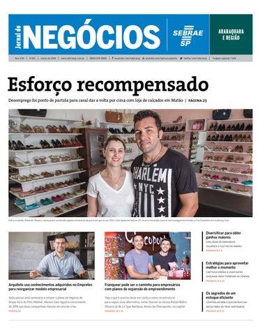 60d71ec3e Jornal de Negócios Sebrae-SP - 01 de março de 2016 - Araraquara e ...