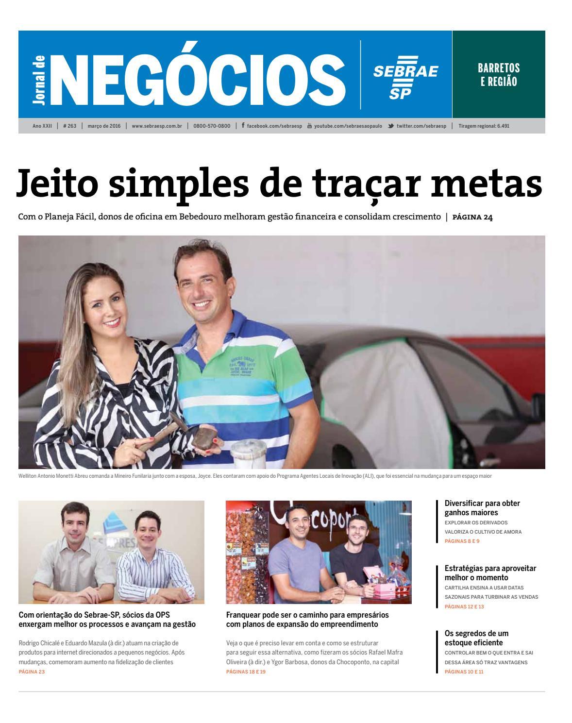 bf56364fbb Jornal de Negócios Sebrae-SP - 01 de março de 2016 - Barretos e região by  Sebrae-SP - issuu