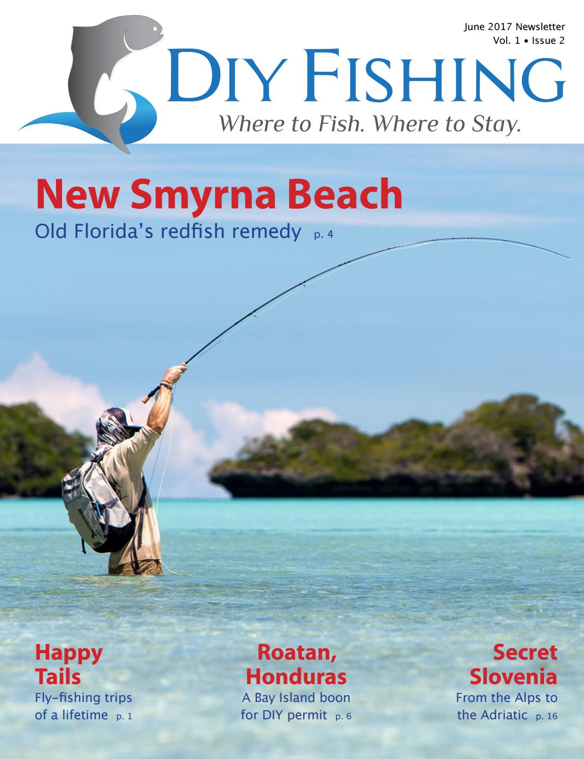 Diy fishing june 2017 by rod hamilton issuu for New smyrna beach fishing spots