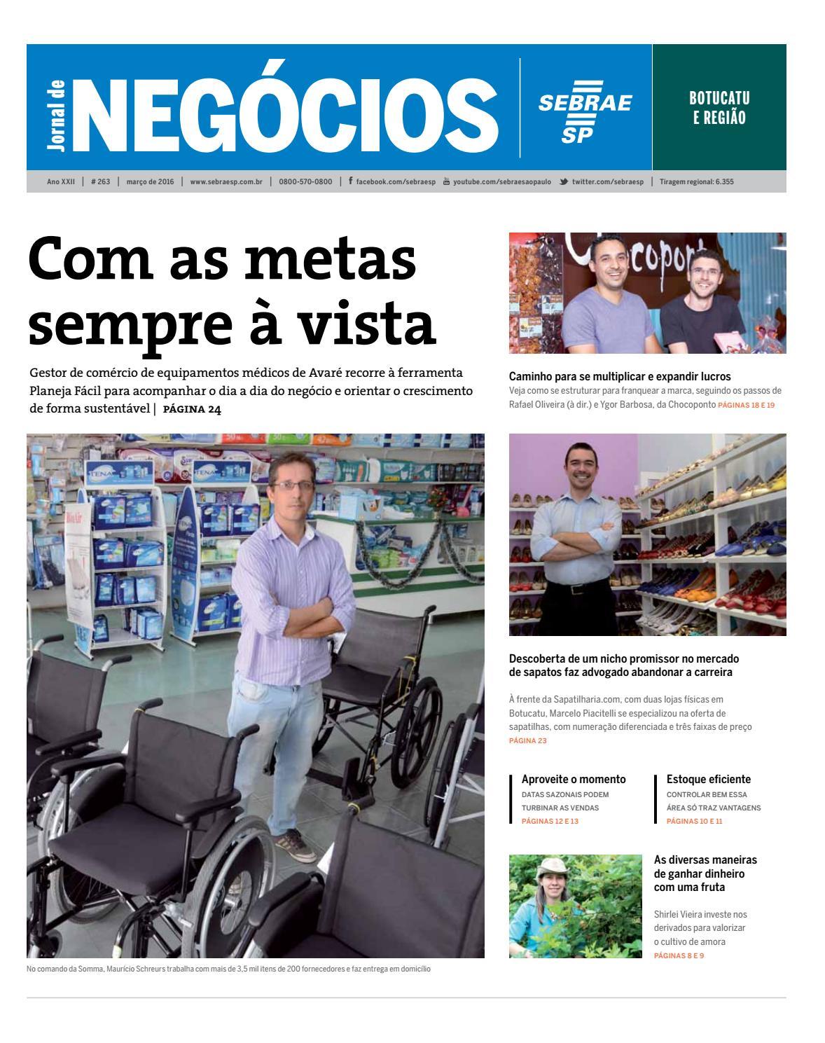 a256d089f Jornal de Negócios Sebrae-SP - 01 de março de 2016 - Botucatu e região by  Sebrae-SP - issuu
