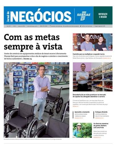 010ce551e Jornal de Negócios Sebrae-SP - 01 de março de 2016 - Botucatu e ...