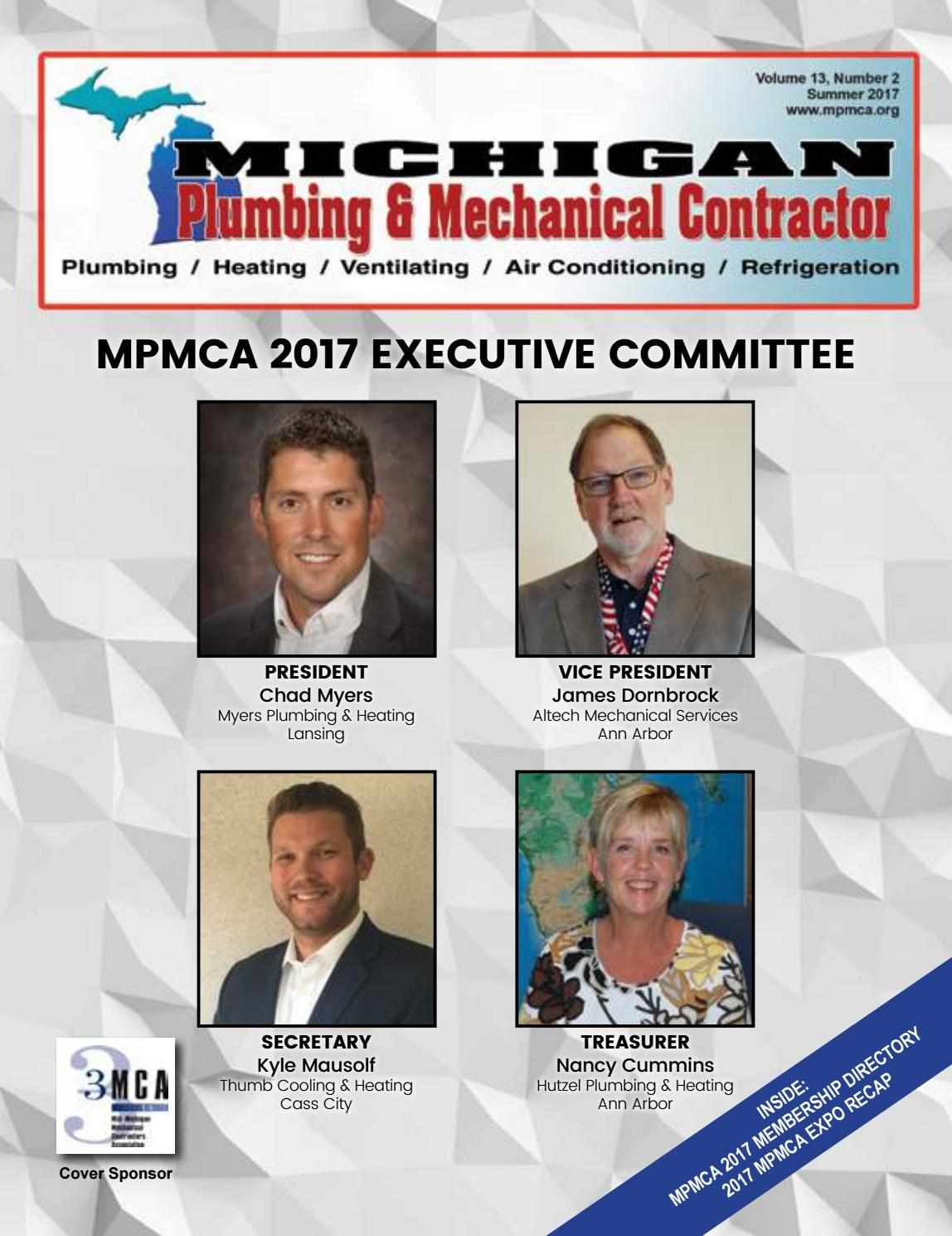 Michigan Plumbing and Mechanical Summer 2017 by PHCC-WI - issuu