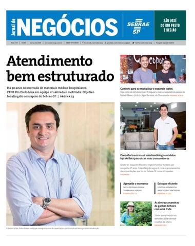 0e005867a Jornal de Negócios Sebrae-SP - 01 de março de 2016 - São José do Rio Preto  e região
