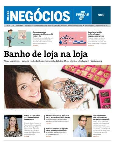 056429bb37 Jornal de Negócios Sebrae-SP - 01 de fevereiro de 2015 - São Paulo ...