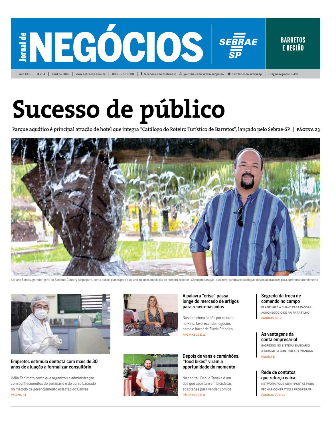 692f5e96a37 Jornal de Negócios Sebrae-SP - 01 de março de 2016 - Barretos e região by  Sebrae-SP - issuu