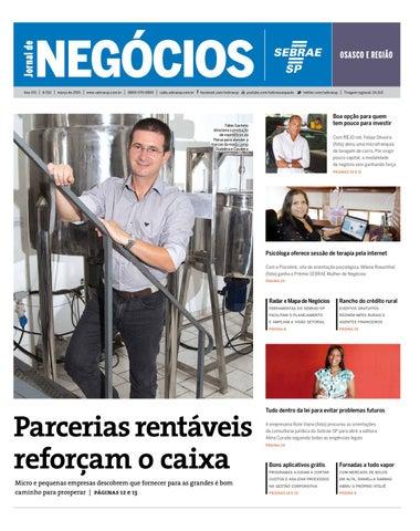 6cfec9261ec Jornal de Negócios Sebrae-SP - 01 de março de 2015 - Osasco by ...