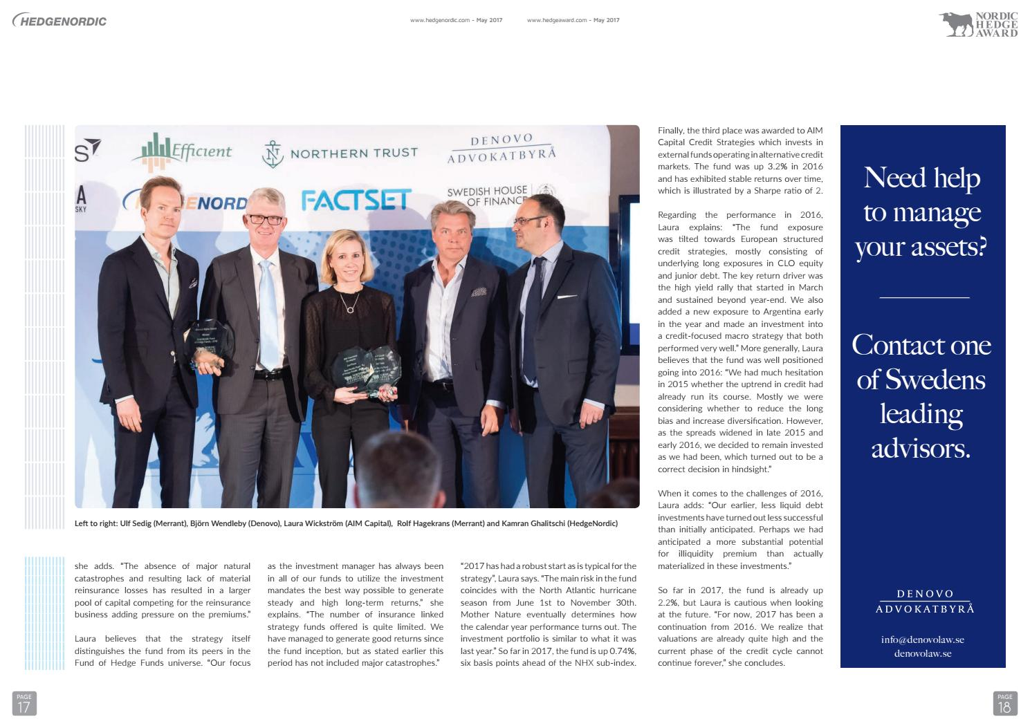 2016_nordic_hedge_award_special by HedgeNordic - issuu