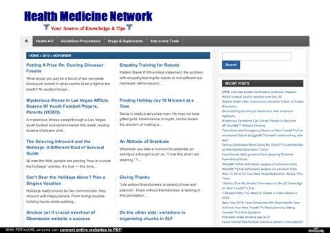 Http healthmedicinet com ii 2013 11 by tuni sante - issuu