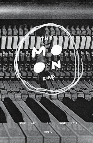 The Moon Zine #22 - Music (June 2017)