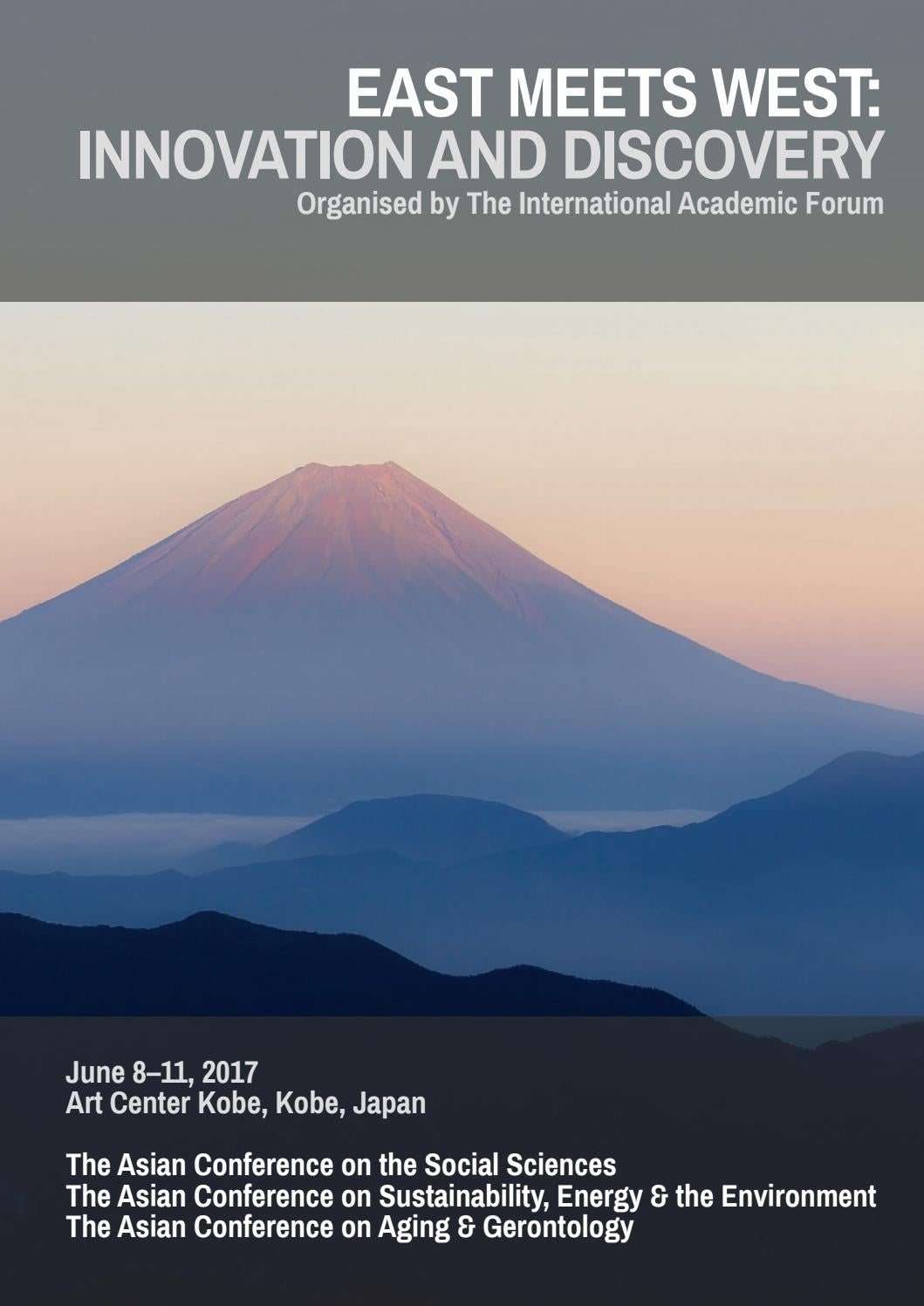 Acss Acsee Agen Official Conference Programme 2017 By Iafor Issuu