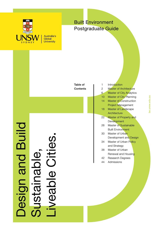 International Student Guide 2016 – Postgraduate by UNSW Sydney - issuu