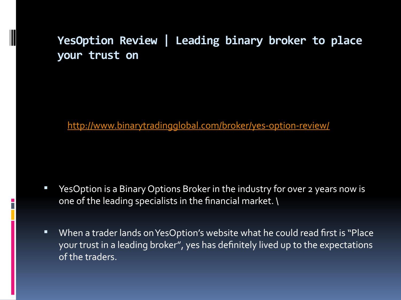 binary broker)