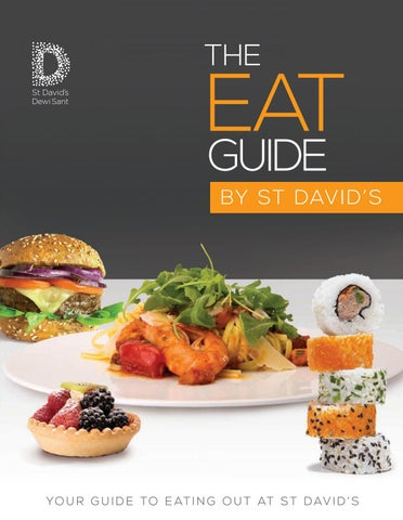 The Eat Guide By St Davids 2017 18 Edition By The Content Emporium