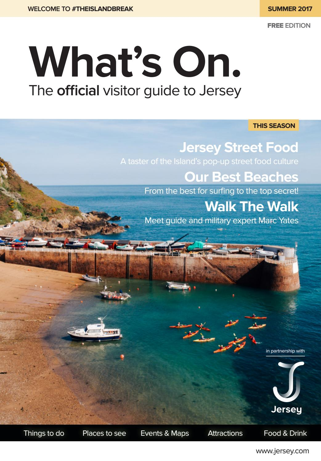 150fd5a9344 What s On Jersey - Summer 2017 by factory - issuu