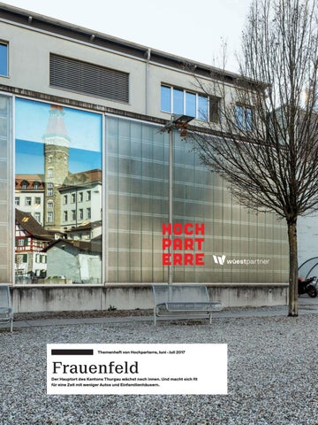 Frauenfeld By Hochparterre Ag Issuu
