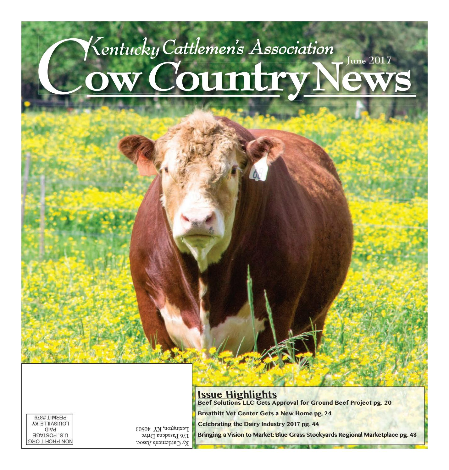 Cow country news june 2017 by the kentucky cattlemens association issuu