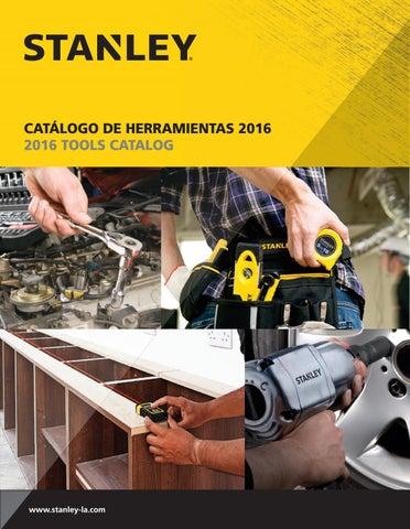 Catalogo herramientas manuales Stanley by FISA Ferreteria Industrial ... 62dec60680ff