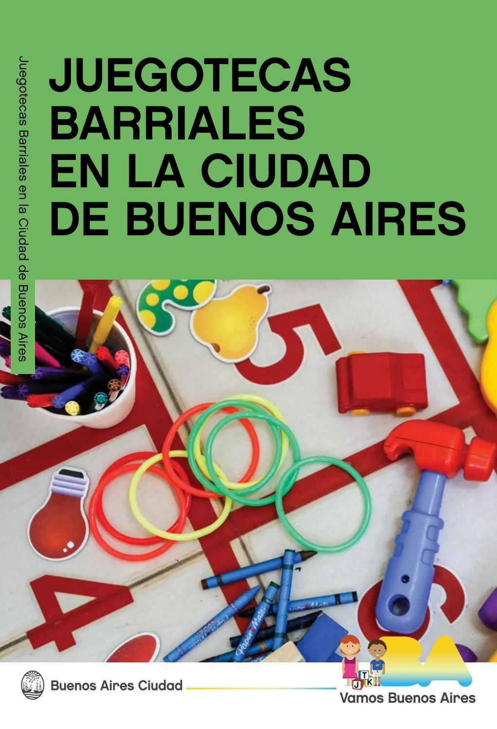 Juegotecas Barriales En La Ciudad De Buenos Aires By Prensa  # Muebles Bordas Colombres