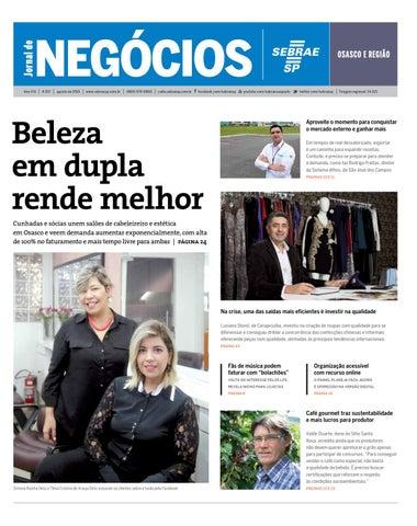 db0bfb13415 Jornal de Negócios Sebrae-SP - Agosto de 2015 - Osasco e região by ...