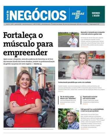 Jornal de Negócios Sebrae-SP - Agosto de 2015 - Ourinhos e região by ... c562c6d2f88