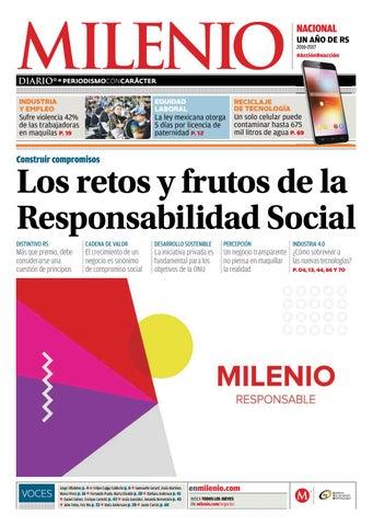 Milenio, un año de responsabilidad social by Suplementos - issuu