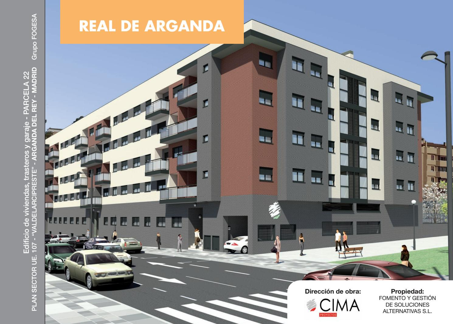 Real De Arganda Dossier De Venta By Grupofogesa Issuu