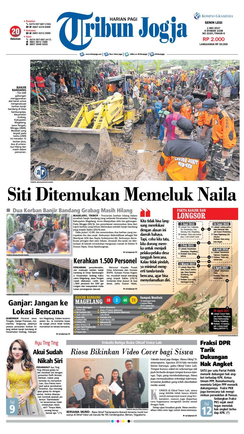 Tribunjogja 01 05 2017 By Tribun Jogja Issuu Produk Ukm Bumn Pusaka Coffee 15 Pcs Kopi Herbal Nusantara Free Ongkir Depok Ampamp Jakarta