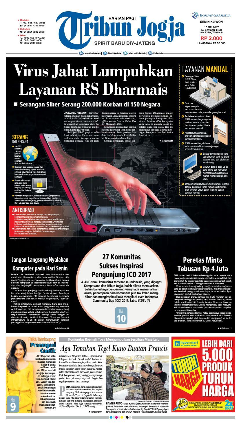 Tribunjogja 15 05 2017 By Tribun Jogja Issuu Loop Hardiknas Voucher Indomaret Rp 200000