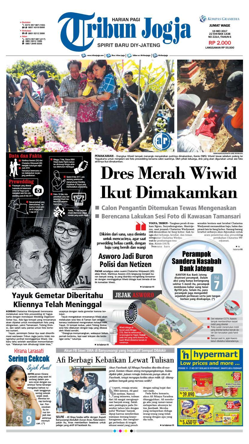 Tribunjogja 19 05 2017 By Tribun Jogja Issuu Produk Ukm Bumn Wisata Mewah Bali 3hr 2mlm
