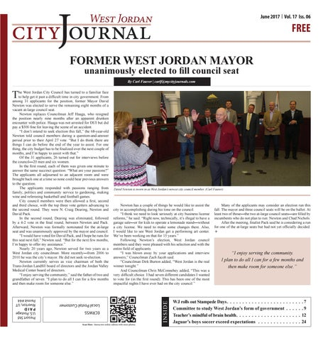 7bb1d4d57f5a6 West Jordan Journal June 2017 by My City Journals - issuu