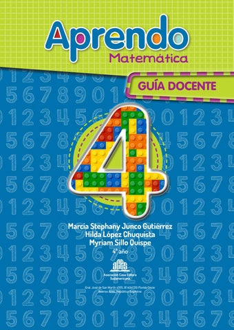 GD - Aprendo Matemática 4 by Editorial ACES - issuu
