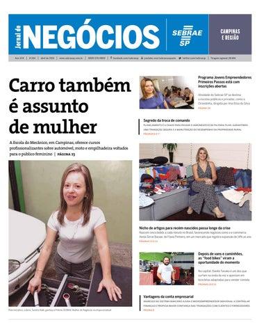 c2ec68320 Jornal de Negócios Sebrae-SP - 01 de abril de 2016 - Campinas e ...