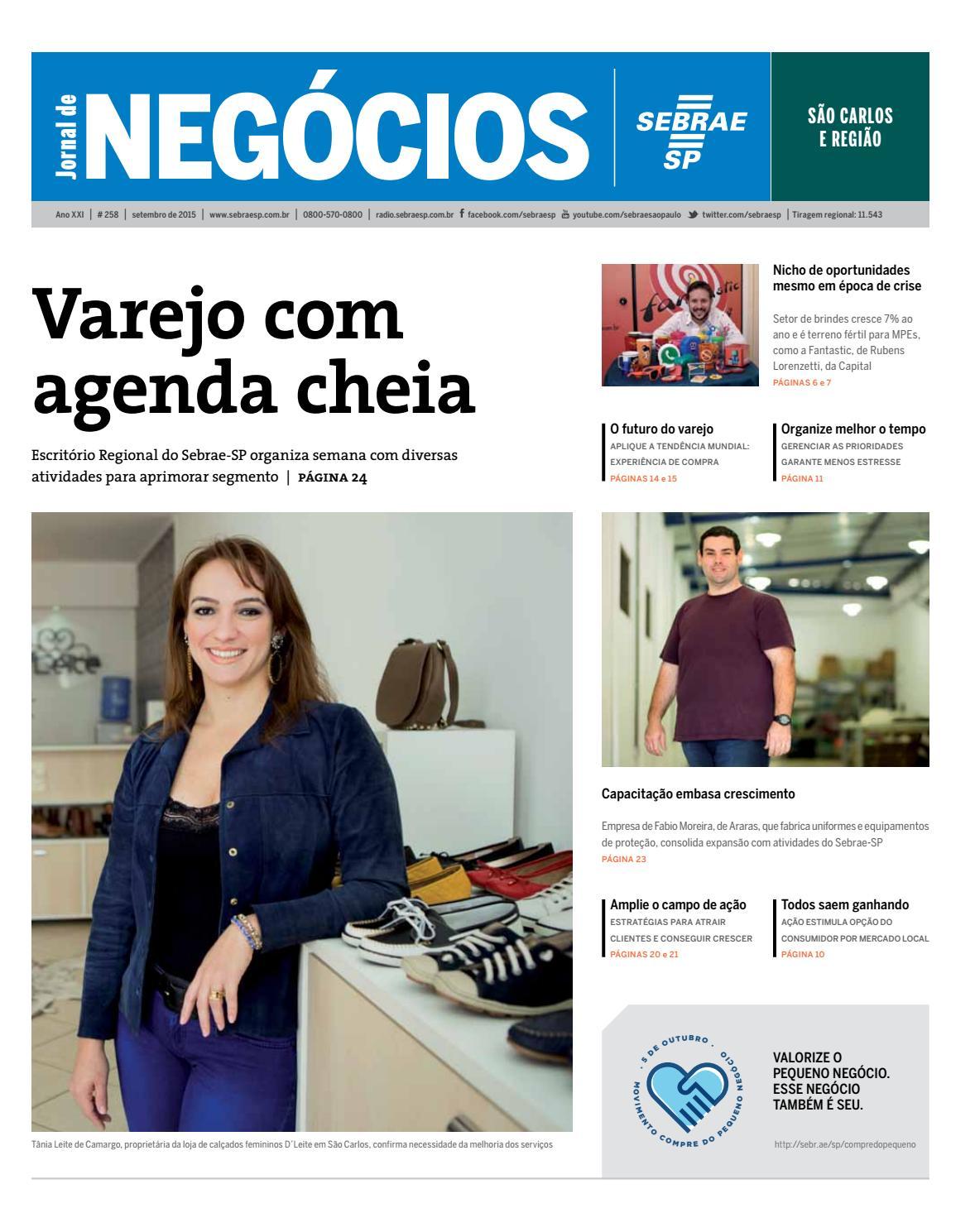 Jornal de Negócios Sebrae-SP - Setembro de 2015 -São Carlos e região by  Sebrae-SP - issuu 3a8cab22279