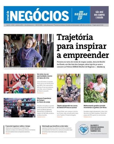 885d6b27f49 Jornal de Negócios Sebrae-SP - Setembro de 2015 -São José dos Campos ...