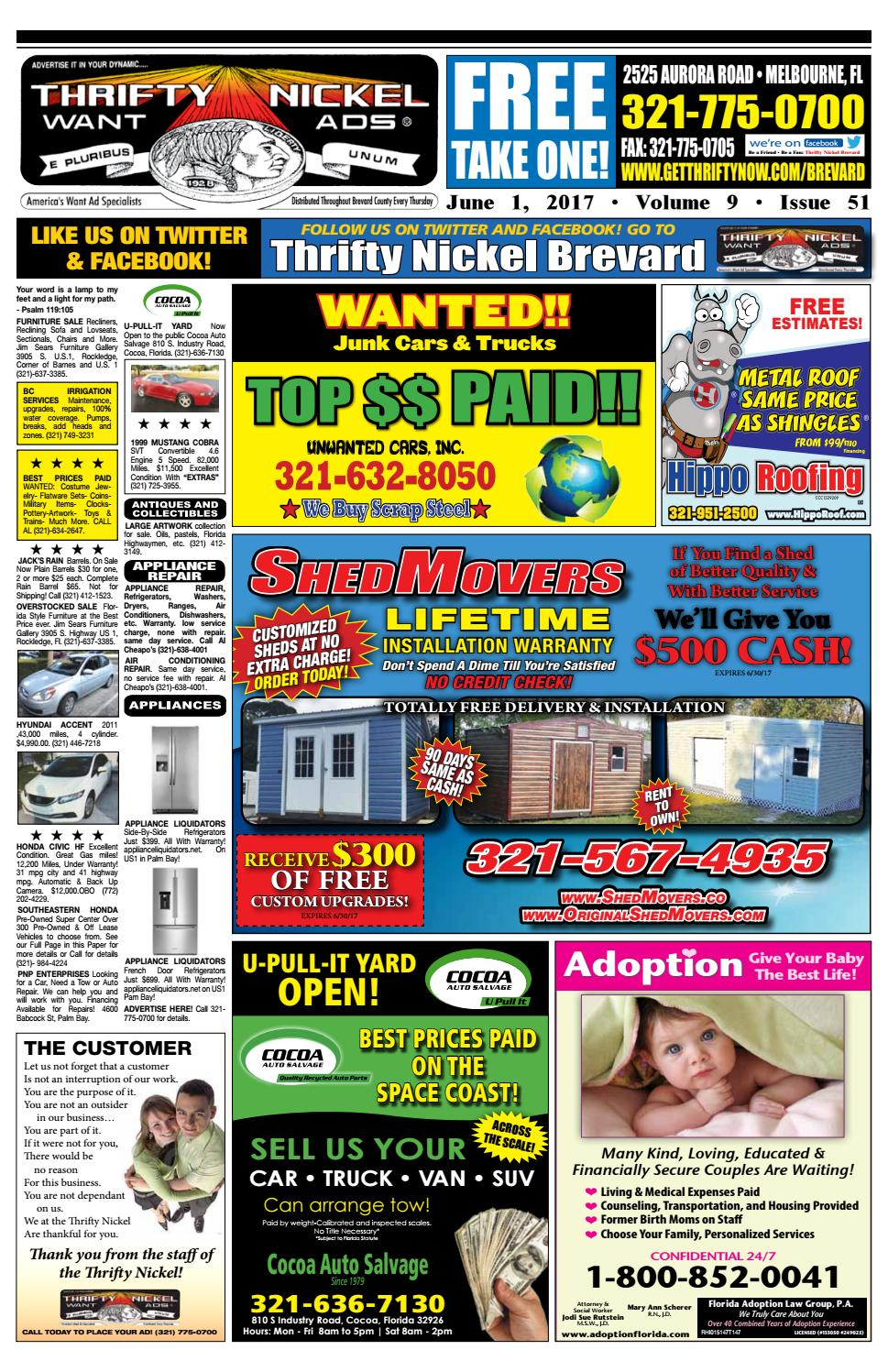Thrifty Nickel Brevard 6117 by Thrifty Nickel issuu