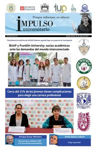 a568f73f12 Impulso Universitario Impreso 02 junio 2017 by Impulso Informativo ...