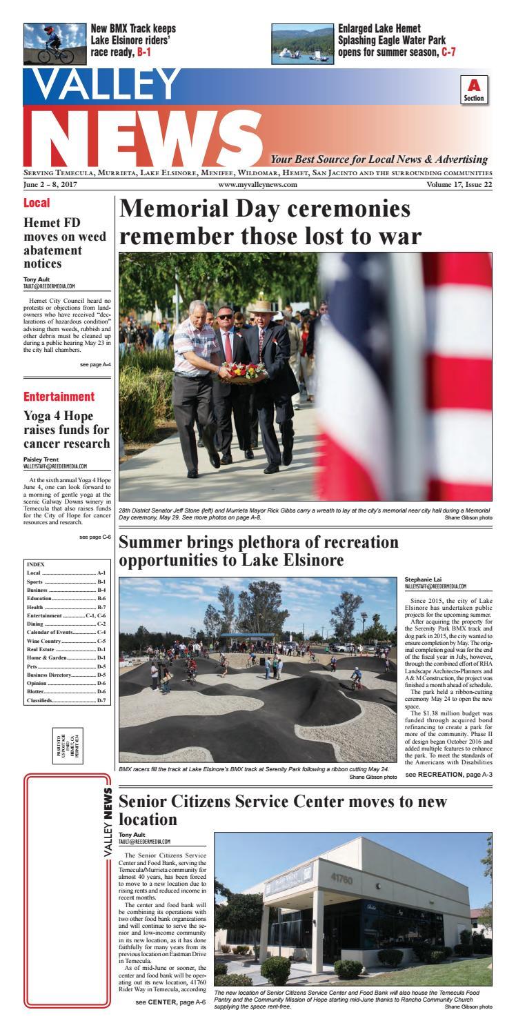 Temecula Valley News by Village News, Inc.   issuu